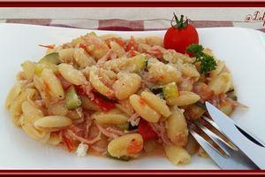One pot pasta au thermomix