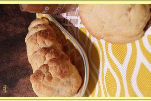Les Helenettes, biscuits moelleux aux jaunes d'oeufs