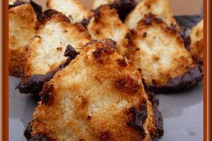 Rochers vanille-coco au chocolat