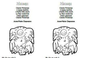 Printemps - Anne-Marie Chapouton -MS-GS-CP
