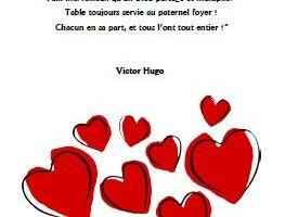 A notre mère - Victor Hugo - GS-CP-CE1-CE2-CM1-CM2