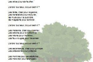 L'arbre - Jacques Charpentreau - CM1-CM2