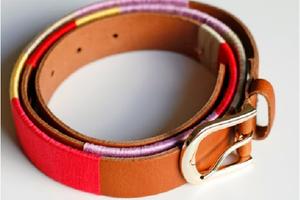 DIY: Customiser une ceinture en cuir un peu trop banal