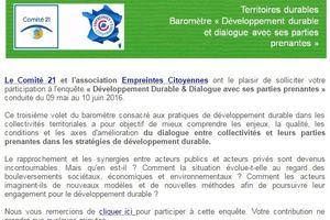 Partenariat Empreintes Citoyennes/Comité21