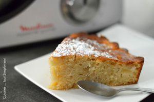 Gâteau Noix de Coco - Pomme
