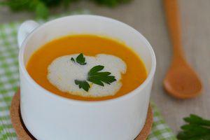 Velouté Carotte, Curry et Soja