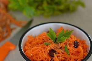Salade de Carottes aux Cranberries