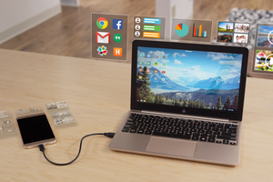 The Superbook transforme votre smartphone Android en PC portable