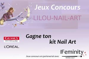 Concours lilou nail art