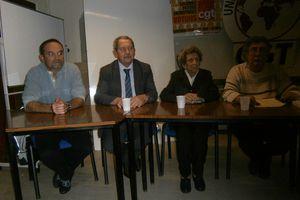 Discours d'Alain Vacher le 08 novembre 2013 pour la réception en l'honneur de Camille Senon