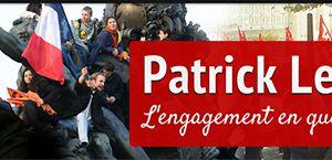 Patrick Le Hyaric : L'appel au sursaut républicain