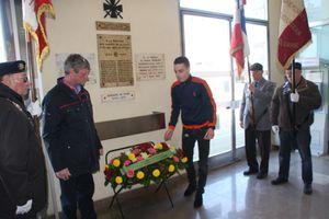 Alain Vacher présent à l'hommage à Pierre Sémard , martyr communiste fusillé par les nazis