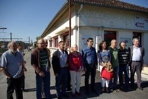 Campagne des régionales d'Olivier Dartigolles à Brive