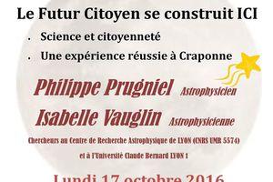 Conférence Sciences et Citoyenneté