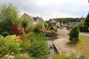 Chedigny, village jardin