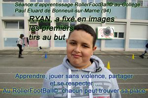 Rollerfootball premiers tirs au but ! Reportage de Ryan