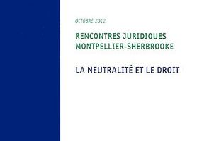 Rencontres juridiques montpellier-sherbrooke