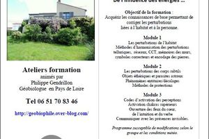Formation Géobiologie opérative en 3 modules