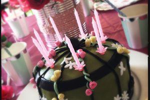 Un gâteau cage à oiseau pour les 7 ans de mon (grand) oisillon…