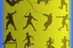 Réunion d'athlétisme UNSS/LNCA le 14 mars 2014