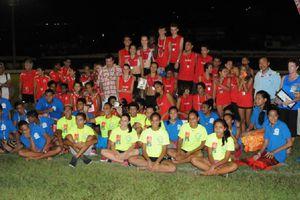 Match minimes à Tahiti