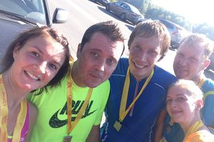 10km a Moscou... Well done!