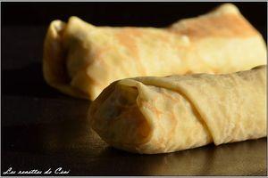 Crêpes jambon, fromage & champignons...un retour en enfance