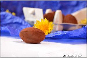 Œufs de Pâques au praliné