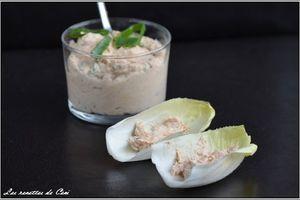 Rillettes de thon au paprika pour garnir petits pains ou des endives