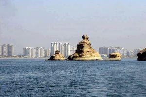 Amazing View of Karachi Sea Line