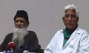 Edhi suffers kidney failure
