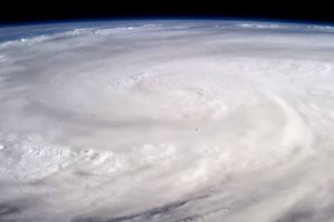picture of Typhoon Haiyan