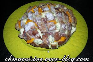 Pull apart bread aux fromages