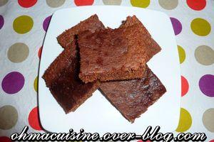 Gateau chocolat noisette (avec blancs d'oeufs)