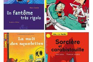 """La saga des petits lecteurs"", épisode 6, personnages d'Halloween"