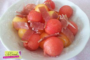 Méli-mélo de Melon & Jambon Italien