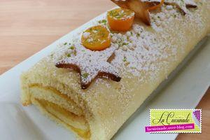 Gâteau Roulé aux Citrons