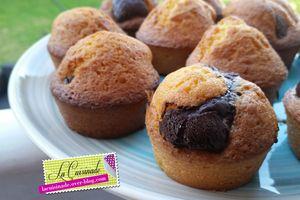 Muffin marbré au chocolat
