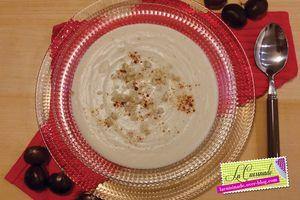 Crème de chou-fleur aux chataignes