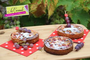 Tartelette aux Raisins