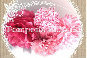 Do It Yourself : Pompons pidoux en papier de soie!