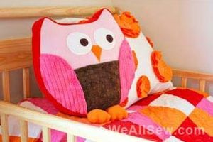 Do It Yourself : le coussin Hibou