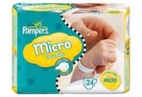 Astuces Préma : les couches Micro de Pampers