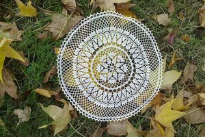 Crochet d'art : napperon tradition