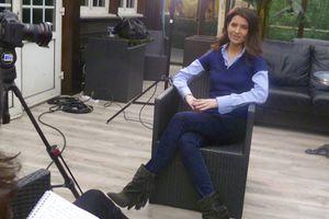 Interviewée par Direct 8