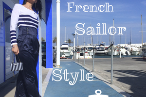 "Mon Style #8 ""Trendy French Sailor"""