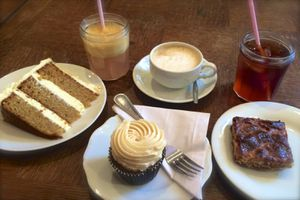 "Sugarplum Cake Shop, un coffee shop ""US Style"" !"