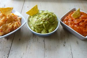 sauces pour tortillas chips
