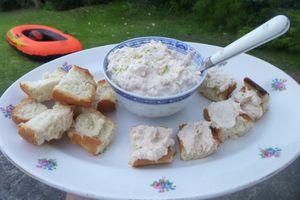 tartinade de crevettes grises gingembre et citron vert