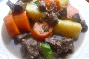 boeuf bourguignon light